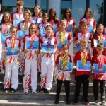 """Sportivii de la clubul """"Tiger Club Karate"""", premiați la Consiliul Județean Arad"""