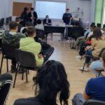 Acțiune pentru prevenirea faptelor antisociale în mediul școlar, la Vinga