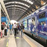 UPDATE Trenul Connecting Europe Express a intrat în România și va ajunge și la Arad