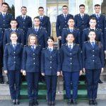 Absolvenți ai Școlii Naționale de Pregătire a Agenților de Penitenciare Târgu Ocna, la Penitenciarul Arad