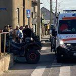 Autorul accidentului de pe strada Cocorilor s-a predat la Poliție. Era sub influența alcoolului