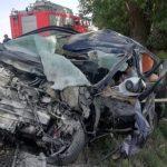 O femeie a murit după ce autoturismul pe care îl conducea s-a izbit de un copac