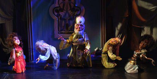 """""""Aladin și lampa fermecată"""", la Marionete"""