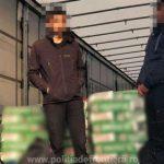 Migranți ascunşi în automarfare, depistați la PTF Nădlac II