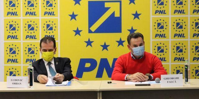 Ludovic Orban, la Arad: Preşedintele PNL nu se alege prin decret prezidenţial
